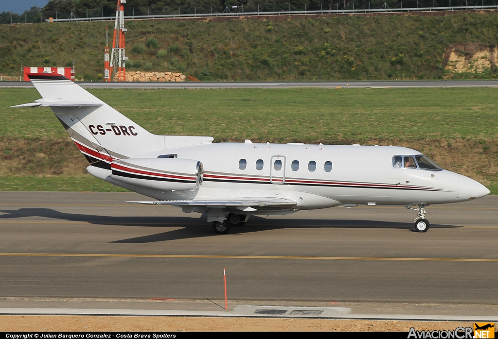 CS-DRC - Raytheon Hawker 800XP - NetJet Europe