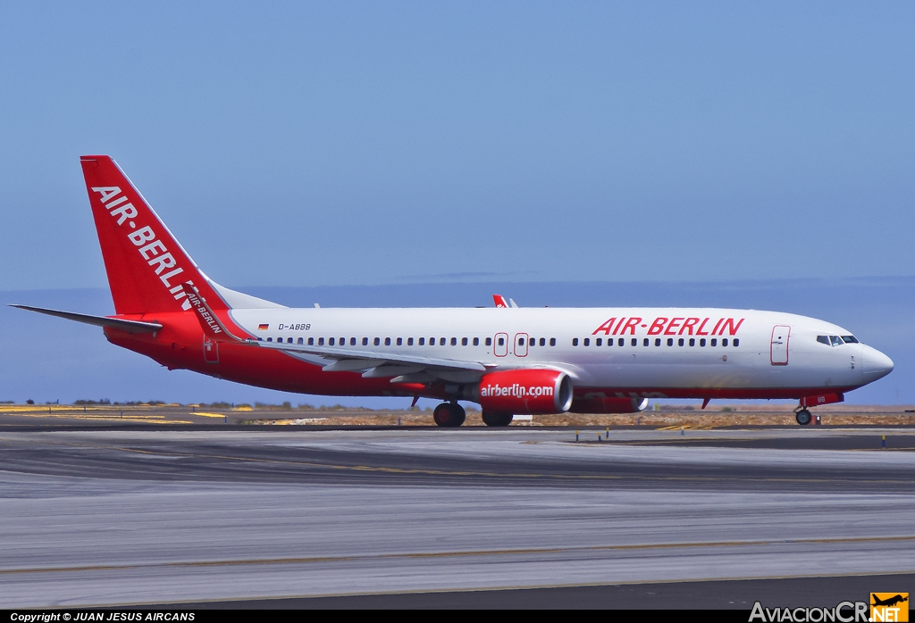 D-ABBB - Boeing 737-86J - Air Berlin