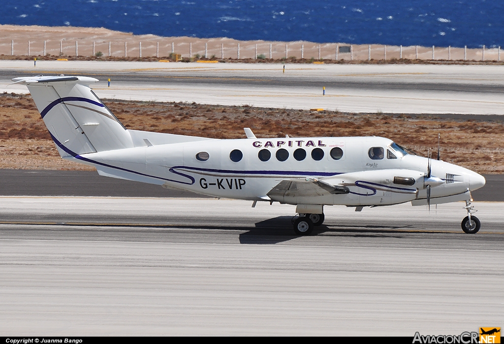 G-KVIP - Beechcraft Super King Air B200 - Capital Aviation