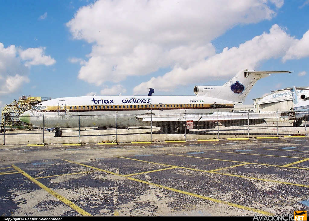 5N-TKE - Boeing 727-82 - Triax Airlines