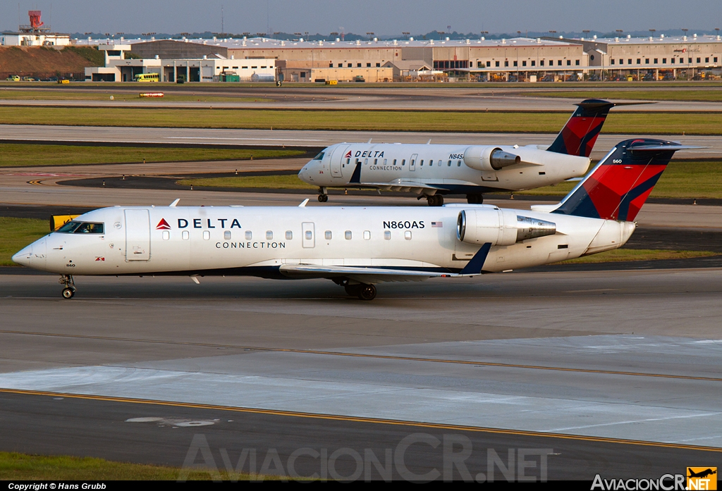 N860AS - Bombardier CRJ-200ER - Delta Connection (Atlantic Southeast Airlines)