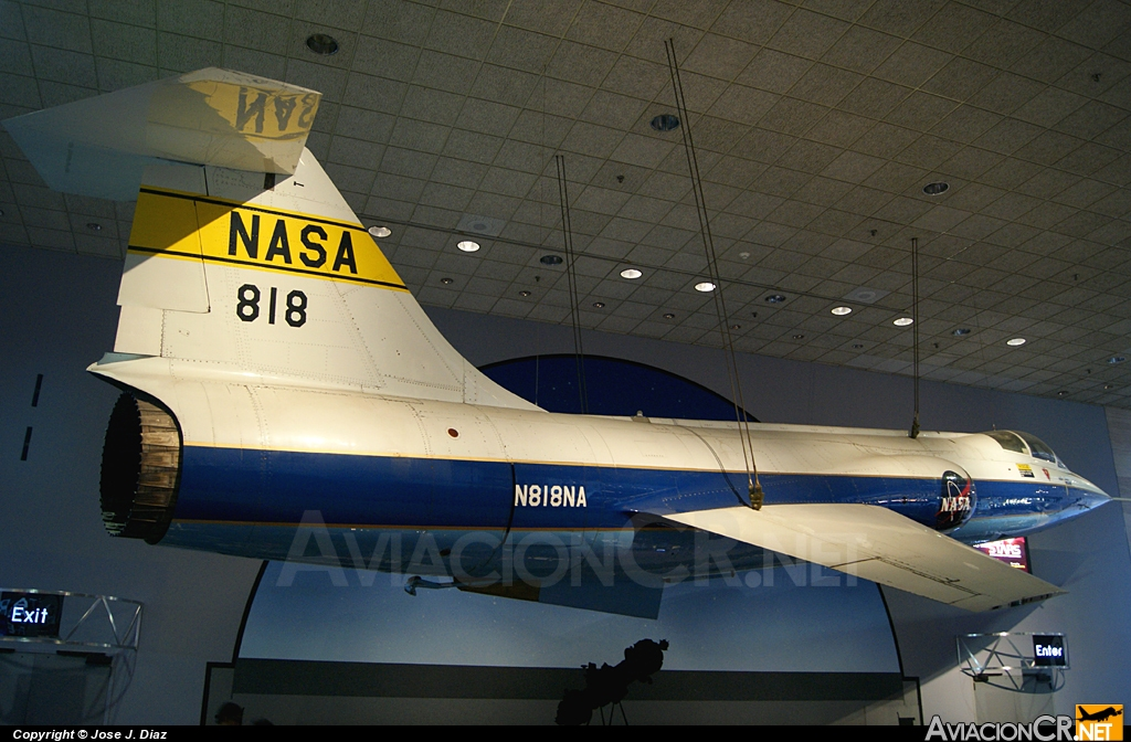 N818NA - Lockheed YF-104A Starfighter - NASA