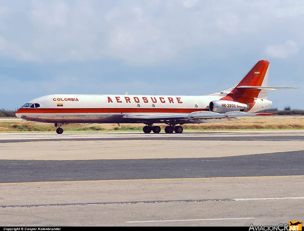 HK-3806X - Sud Aviation SE 210 Caravelle 10B3 - Aerosucre