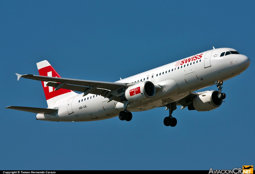 HB-IJL - Airbus A320-214 - Swiss International Air Lines