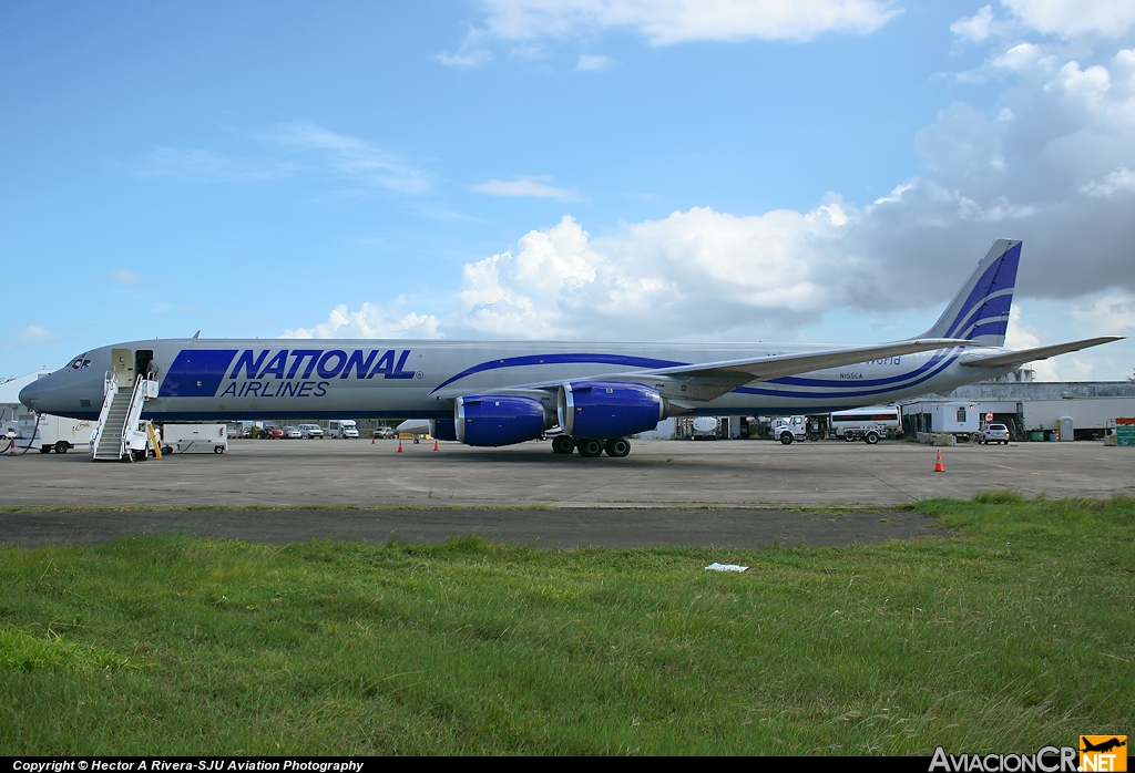 N155CA - McDonnell Douglas DC-8-73(F) - National Airlines
