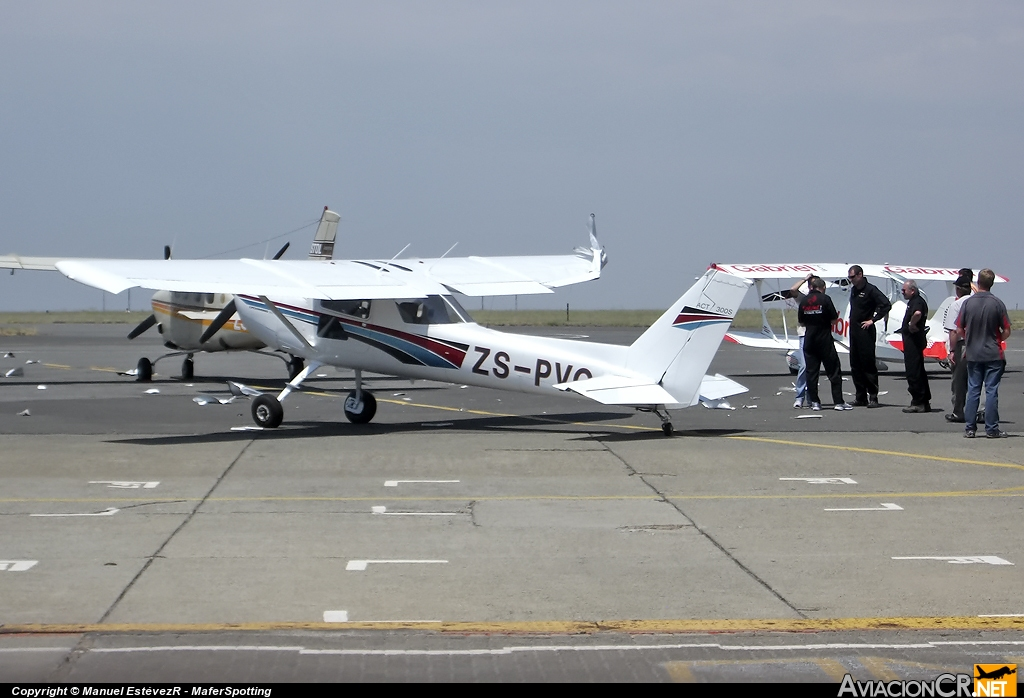 ZS-PVG - Cessna 152 - EVEN GRAND TRADING 73 CC