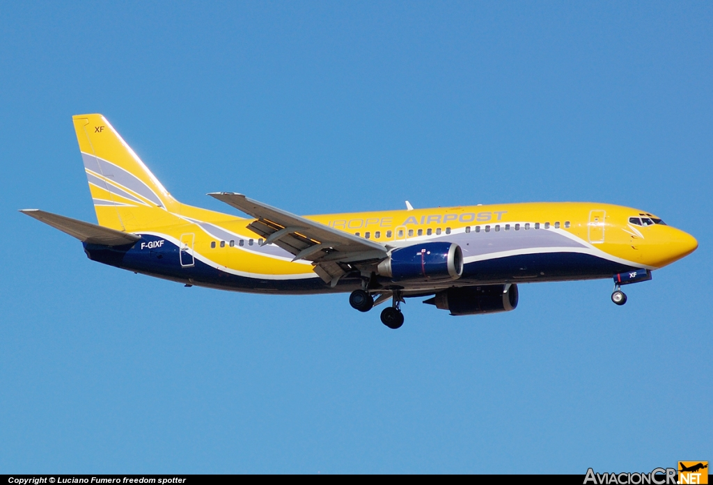 F-GIXF - Boeing 737-3B3(QC) - Europe Airpost