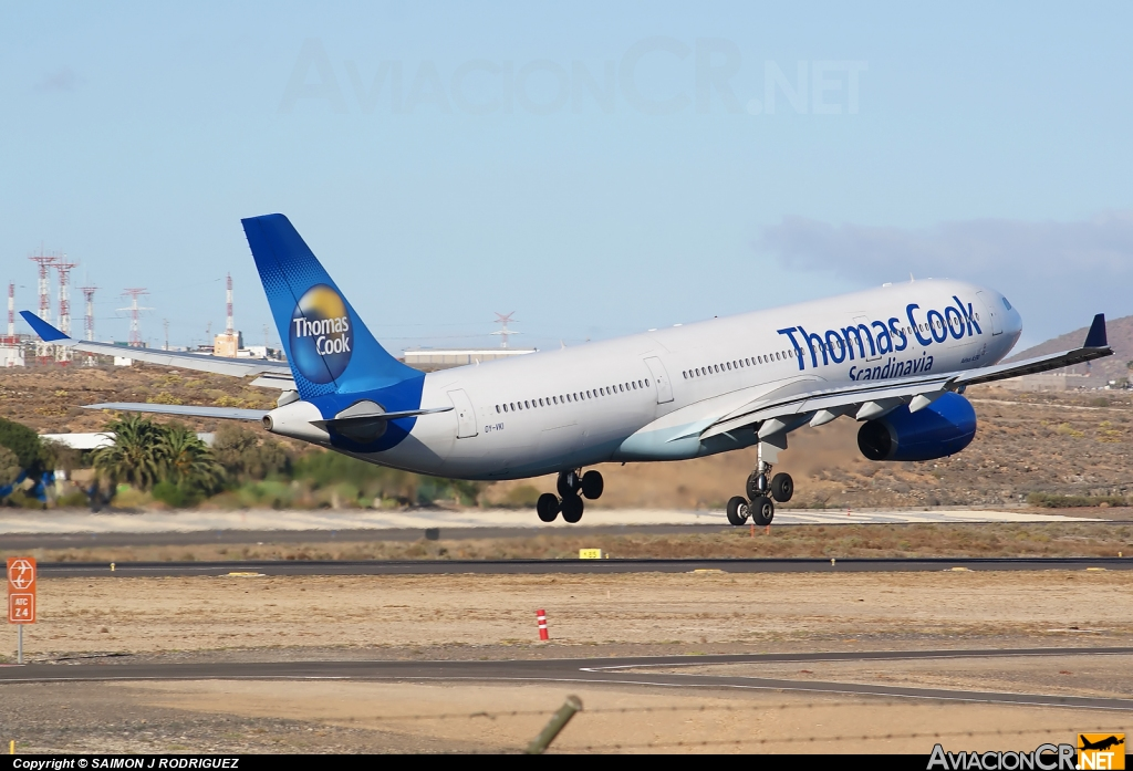 OY-VKI - Airbus A330-343X - Thomas Cook Airlines Scandinavia