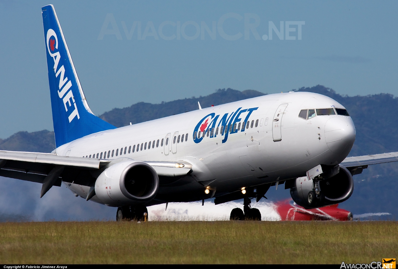 F-GZHB - Boeing 737-8GJ - CanJet Airlines