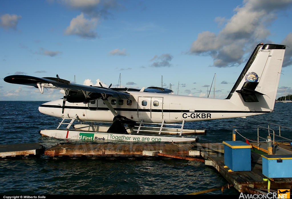 C-GKBR - De Havilland Canada DHC-6-300 Twin Otter - Seaborne AIrlines