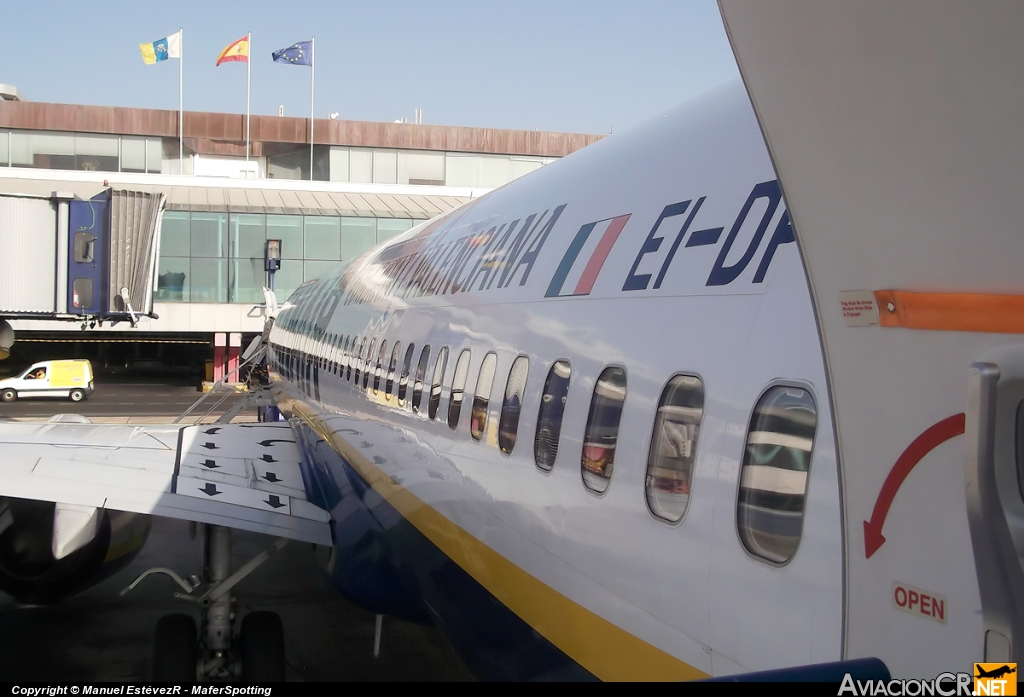 EI-DPS - Boeing 737-8AS - Ryanair
