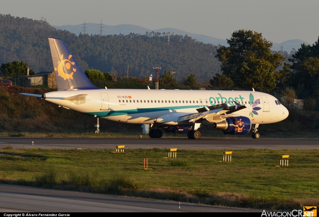 EC-KZG - Airbus A320-214 - Orbest Orizonia Airlines