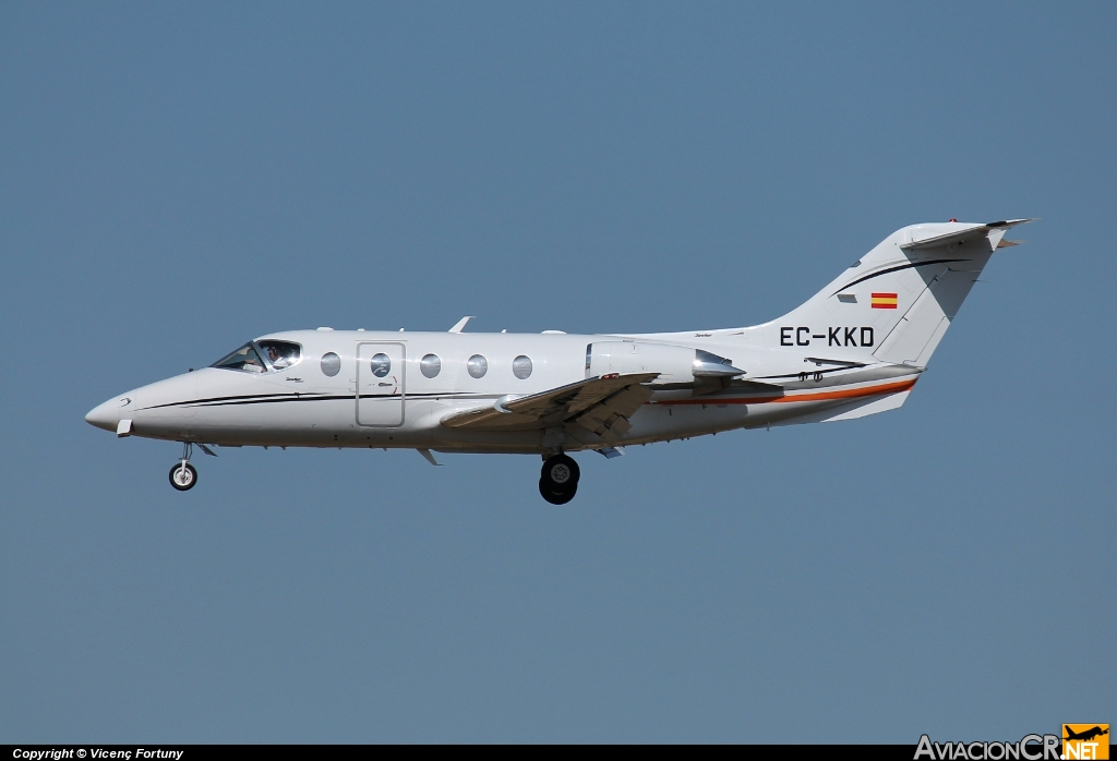 EC-KKD - Raytheon Hawker 400XP - Gestair