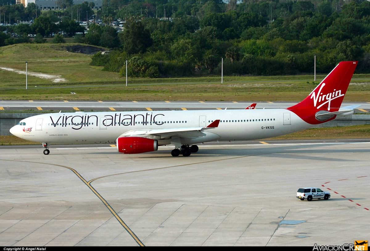 G-VKSS - Airbus A330-343E - Virgin Atlantic Airways