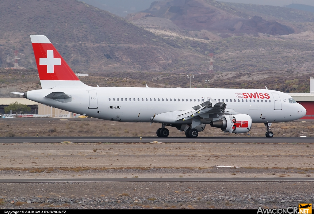 HB-IJU - Airbus A320-214 - Swiss International Air Lines