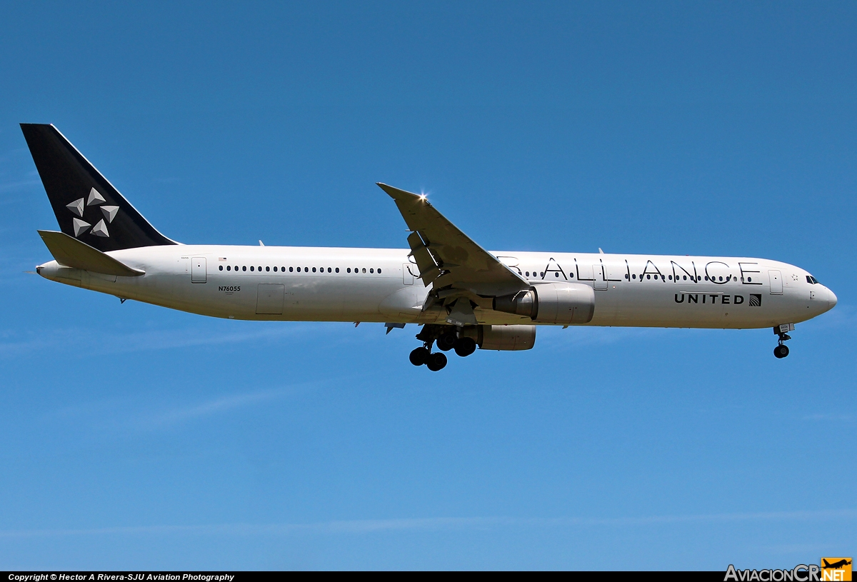 N76055 - Boeing 767-424/ER - United Airlines (Continental Airlines)