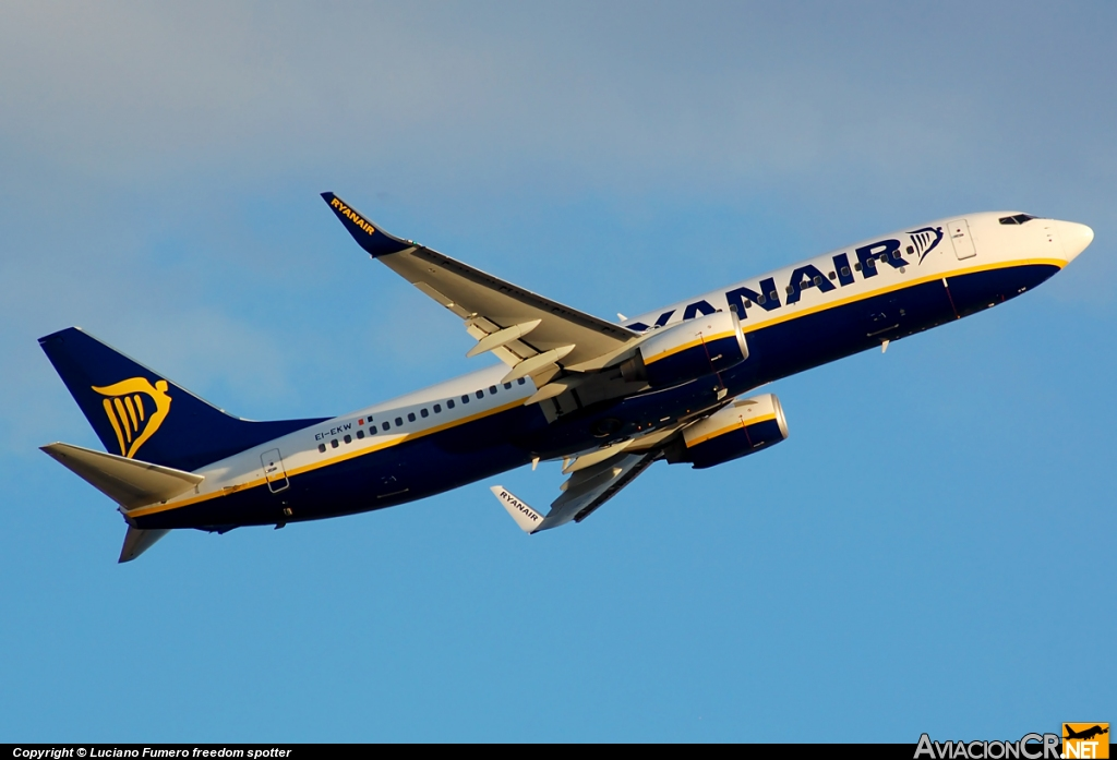 EI-EKW - Boeing 737-8AS - Ryanair