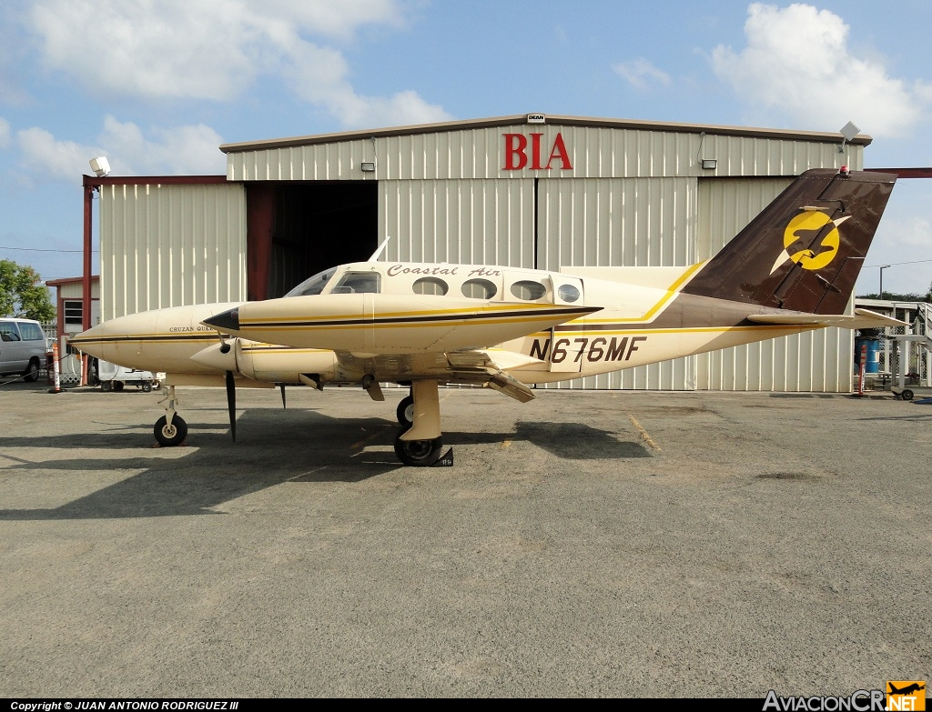 N676MF - Cessna 402B - Coastal Air