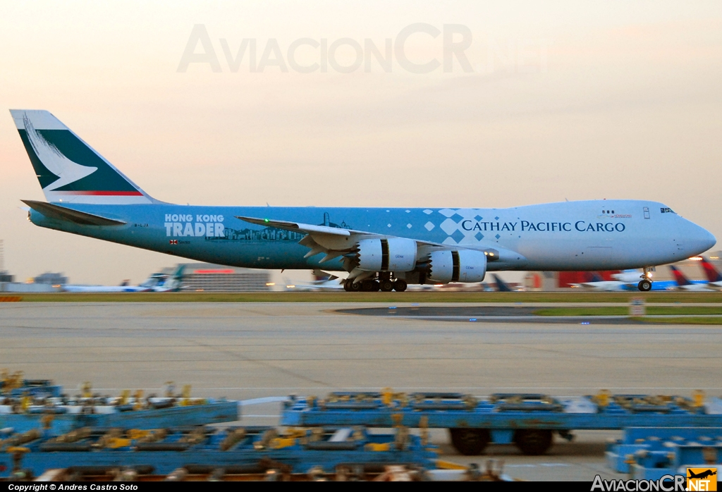 B-LJA - Boeing 747-867F/SCD - Cathay Pacific Cargo