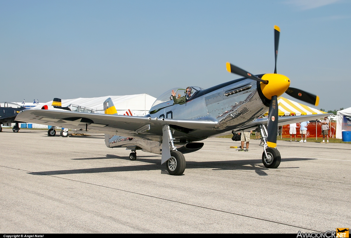 NL51JC - North American P-51D Mustang - Cavanaugh Flight Museum