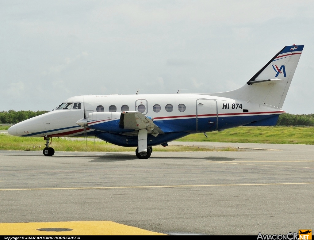 HI-874 - British Aerospace BAe-3201 Jetstream 32 - Aerolineas Mas