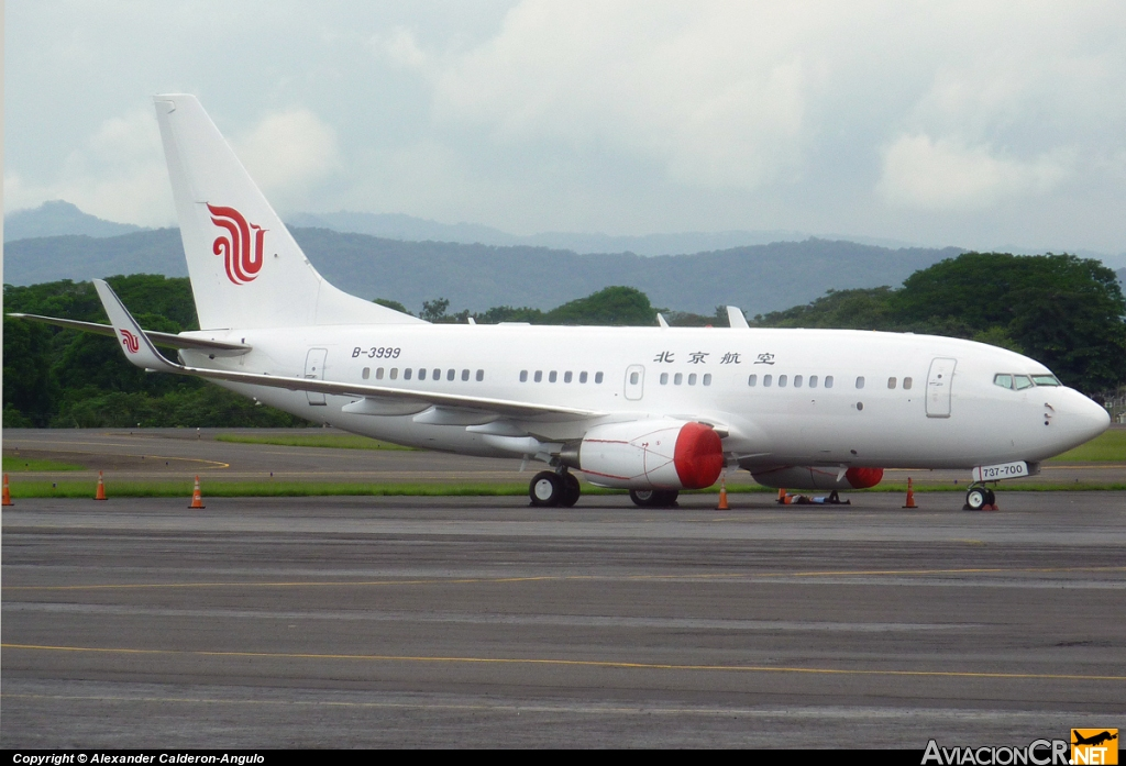 B-3999 - Boeing 737-79L(BBJ) - Air China Business Jet