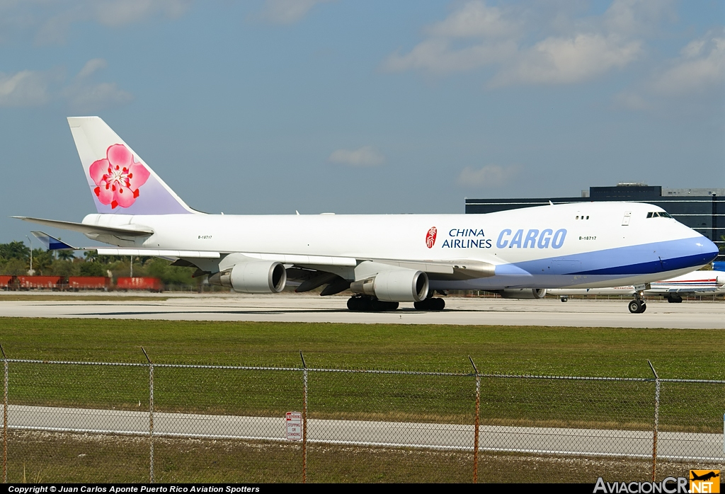 B-18717 - Boeing 747-409F/SCD - China Airlines Cargo
