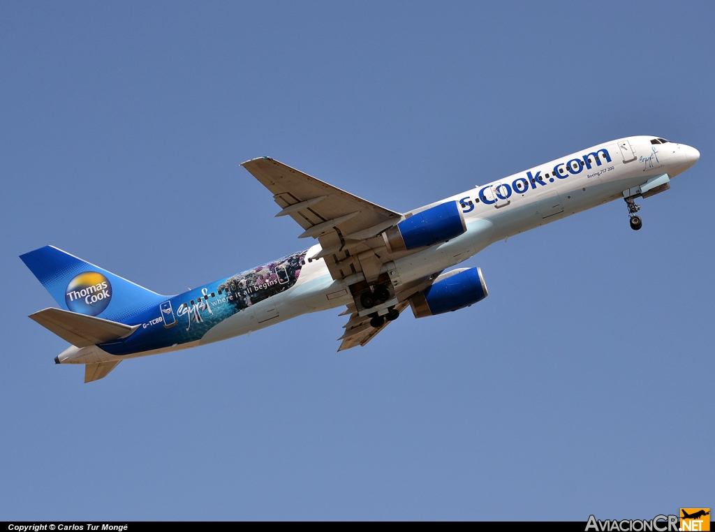 G-TCBB - Boeing757-236 - Thomas Cook Airlines