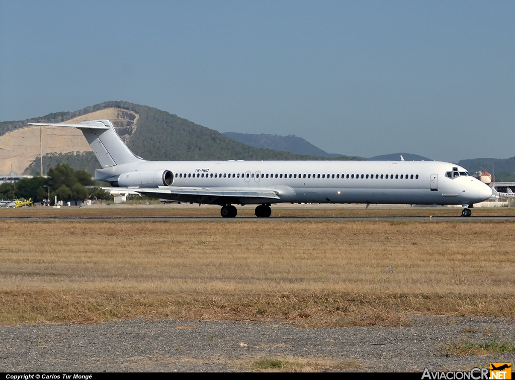 YR-HBD - McDonnell Douglas MD-87 - Medallion Air