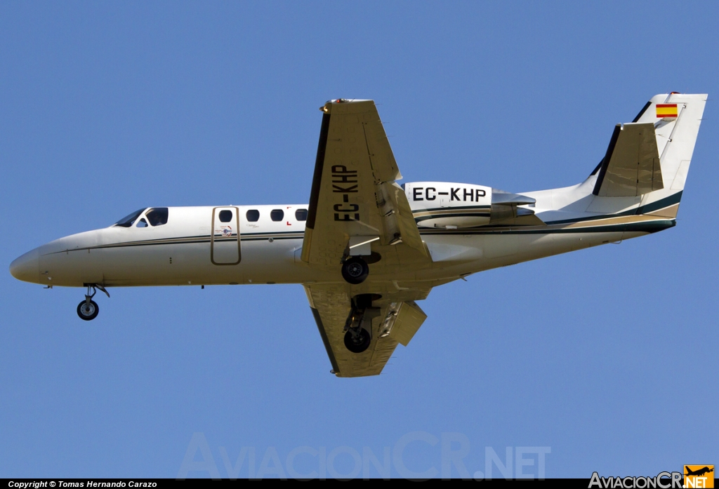 EC-KHP - Cessna 550B Citation Bravo - Gestair