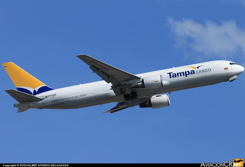 N771QT - Boeing B767-381(F) - Tampa Colombia