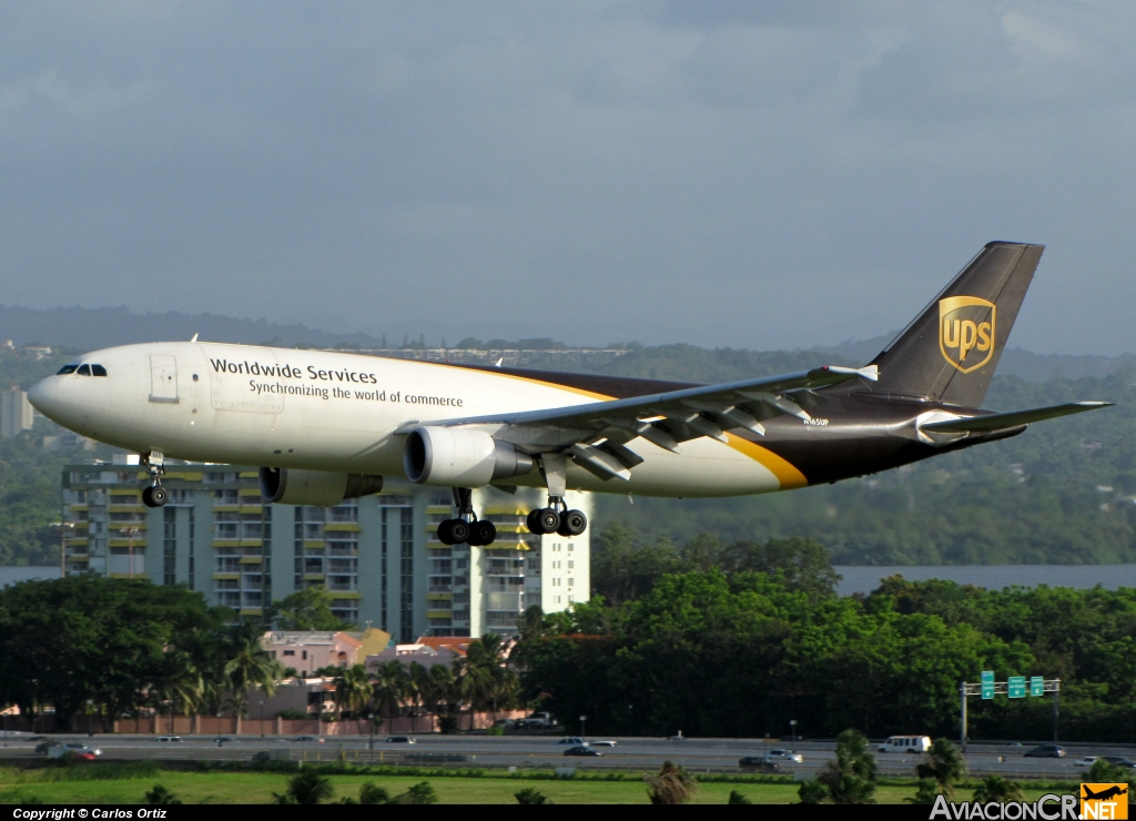 N165UP - Airbus A300B4-603 - UPS - United Parcel Service