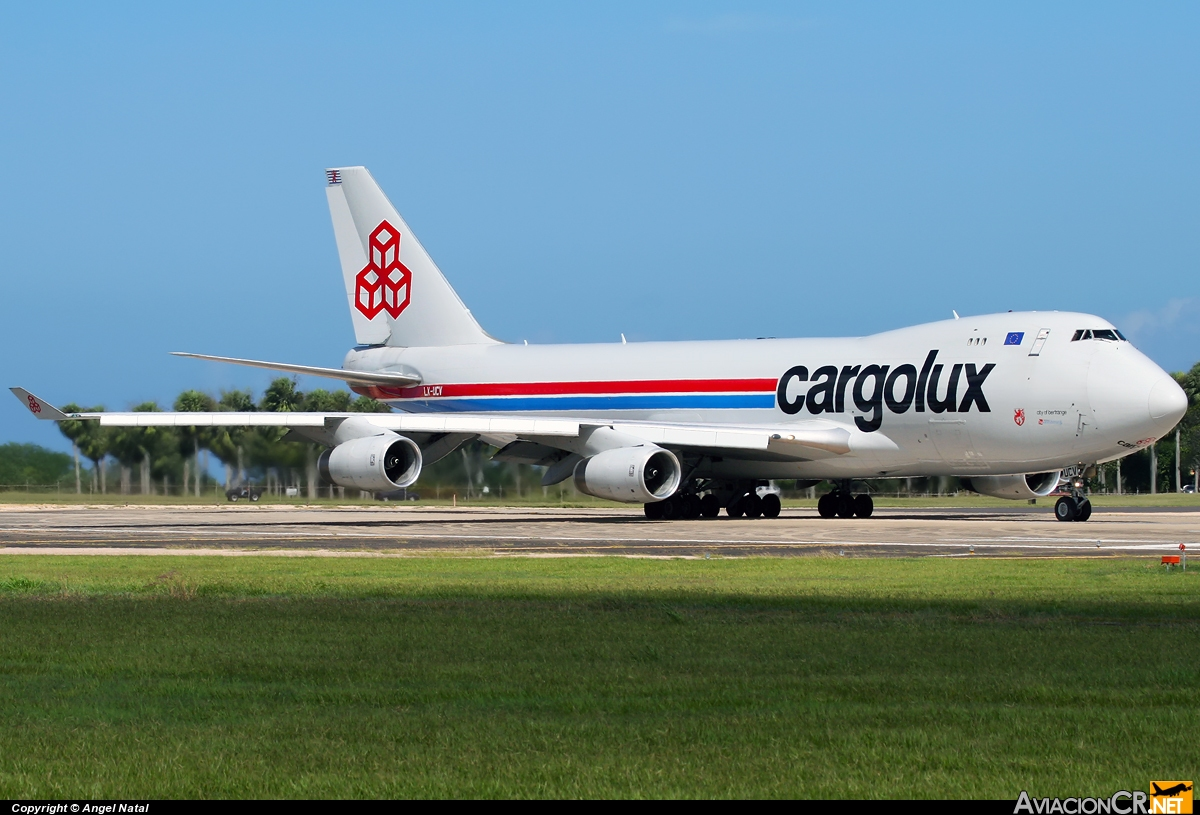 LX-UCV - Boeing 747-4R7F/SCD - Cargolux Airlines International
