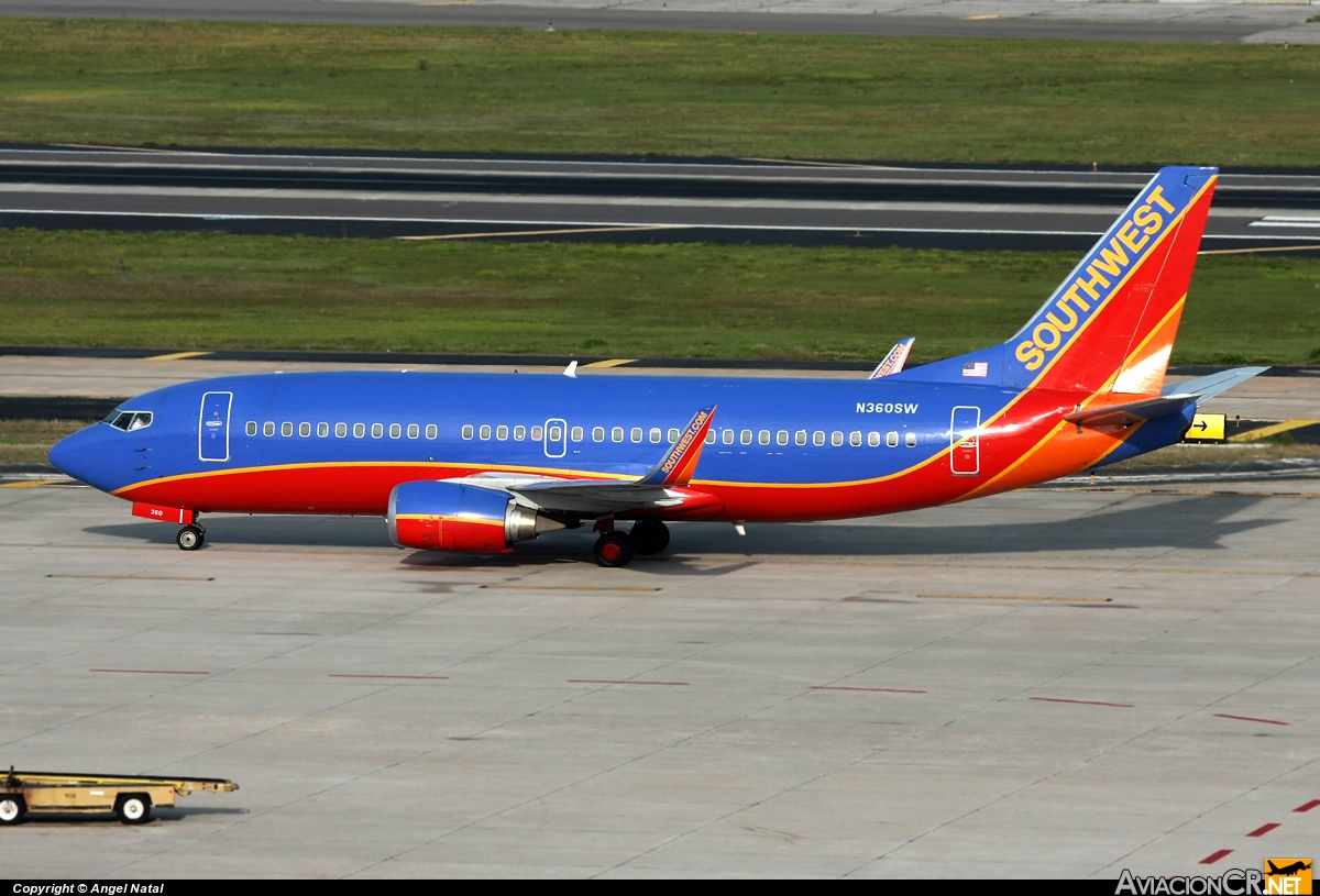 N360SW - Boeing 737-3H4 - Southwest Airlines