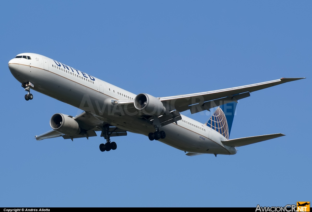 N78060 - Boeing 767-424/ER - Continental Airlines