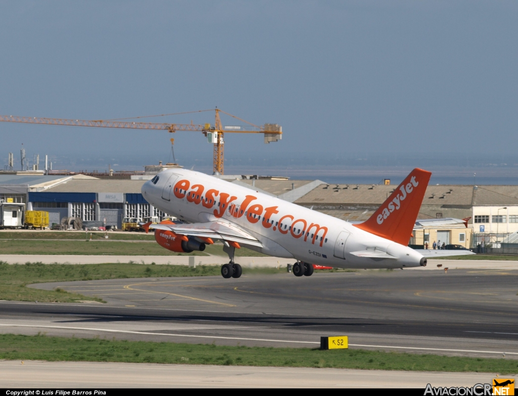 G-EZDI - Airbus A319-111 - EasyJet Airlines