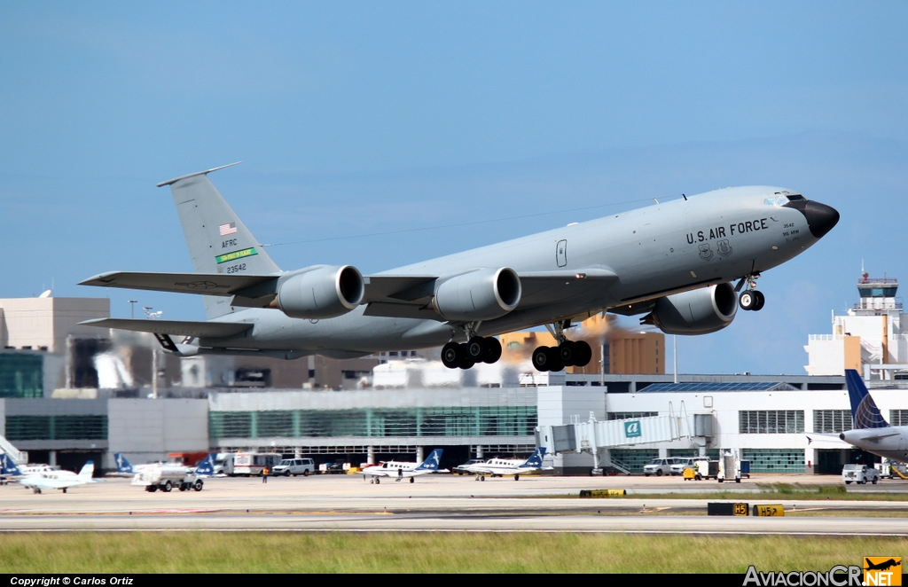 62-3542 - Boeing KC-135R Stratotanker - U.S. Air Force