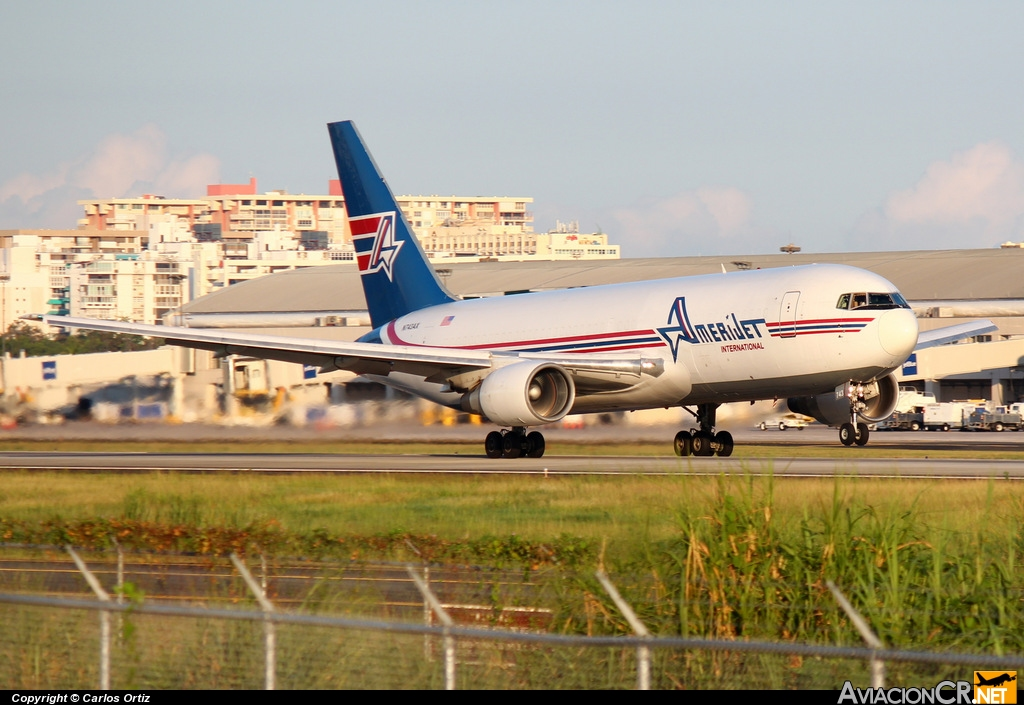 N743AX - Boeing 767-232/SF - Amerijet International