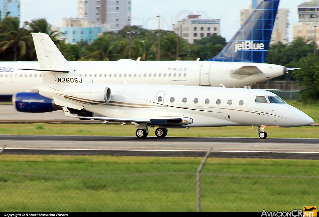 N360SJ - Gulfstream Aerospace G200 - Privado
