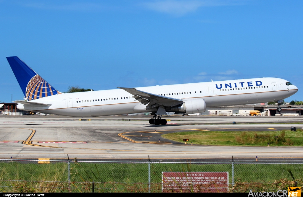 N76062 - Boeing 767-424/ER - United Airlines (Continental Airlines)