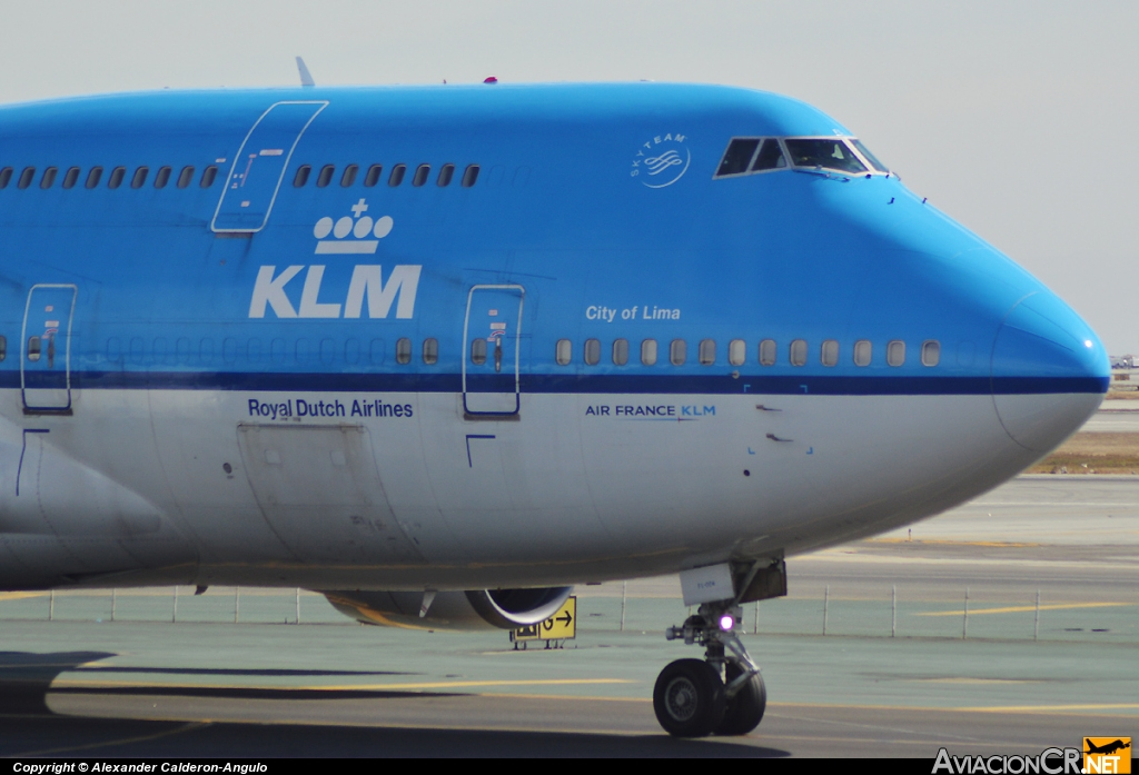 PH-BFL - Boeing 747-406 - KLM - Royal Dutch Airlines