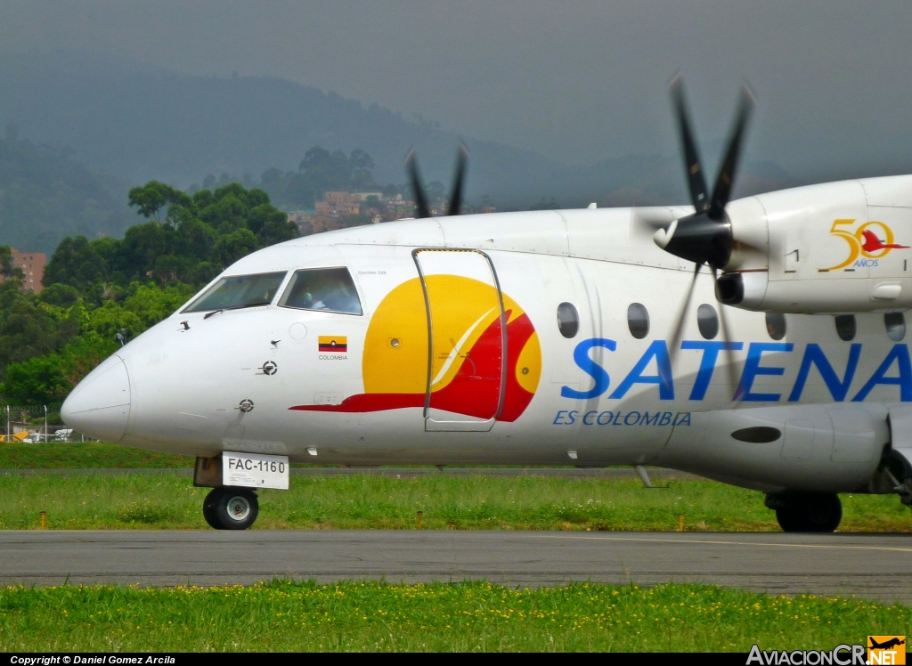 FAC-1160 - Dornier Do-328-110 - Satena