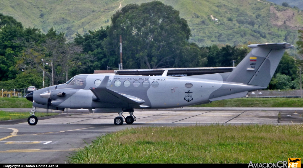 ARC-101 - Beechcraft Super King Air 350 (B300) - Colombia - Navy
