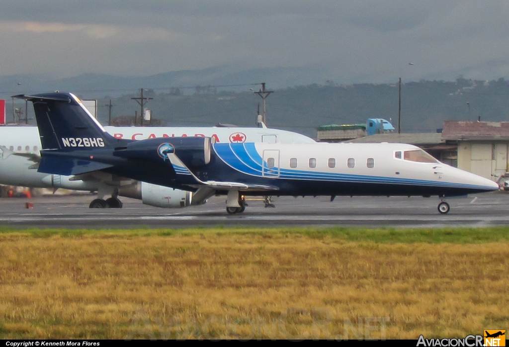 N326HG - Learjet 35A - Privado