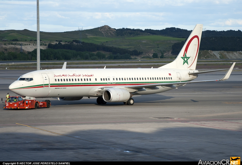 CN-ROC - Boeing 737-8B6 - Royal Air Maroc - RAM