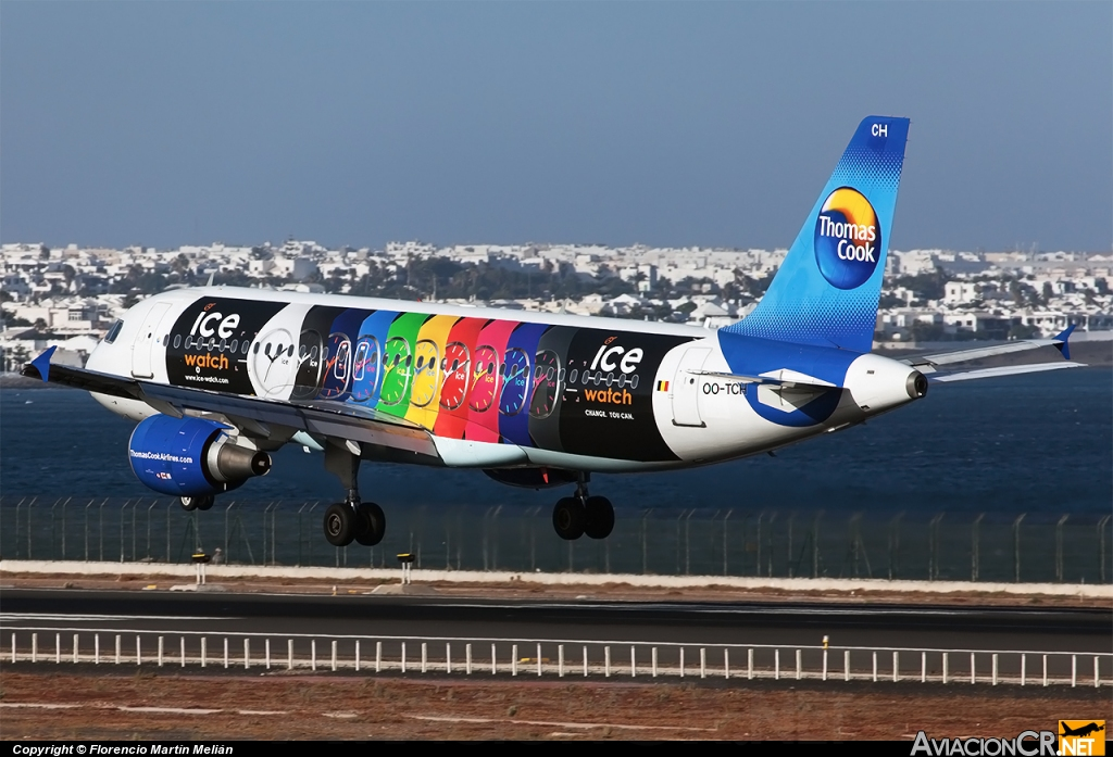 OO-TCH - Airbus A320-214 - Thomas Cook Airlines