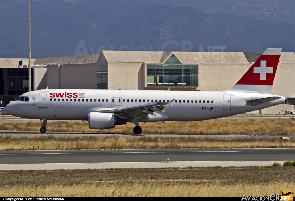 HB-IJP - Airbus A320-214 - Swiss International Air Lines