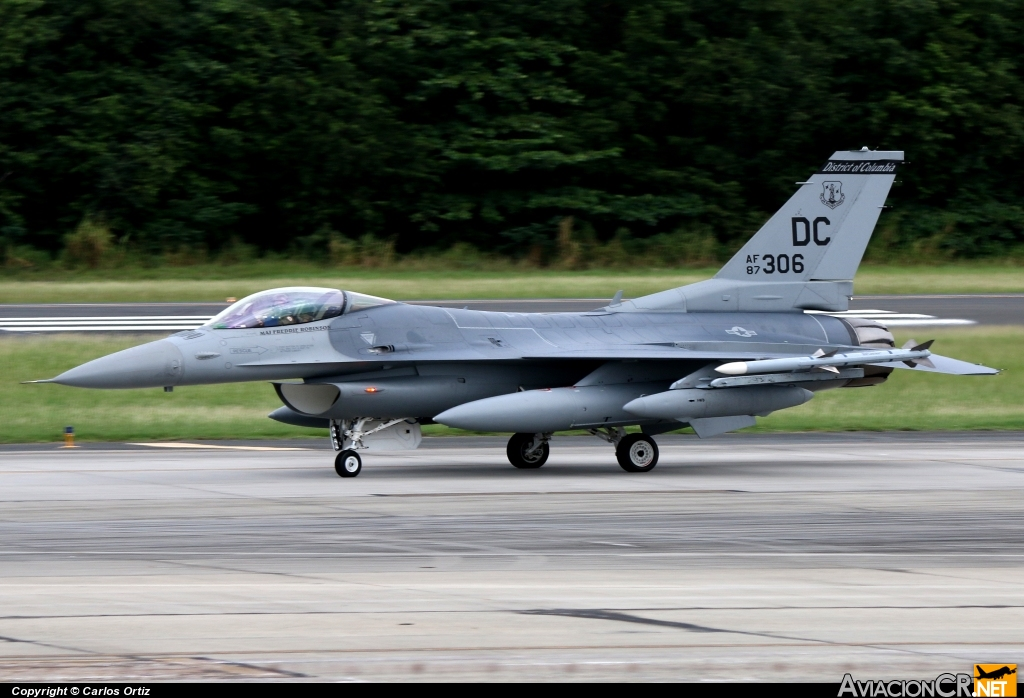 87-0306 - General Dynamics F-16C Fighting Falcon - USA - Air Force