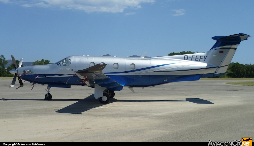 D-FEFY - Pilatus PC-12/47 - Privado