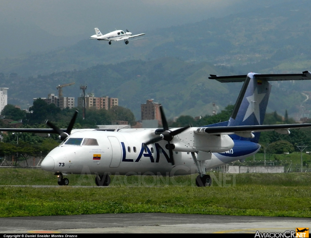 HK-4473 - Bombardier Dash 8-Q201 - LAN Colombia (Aires Colombia)